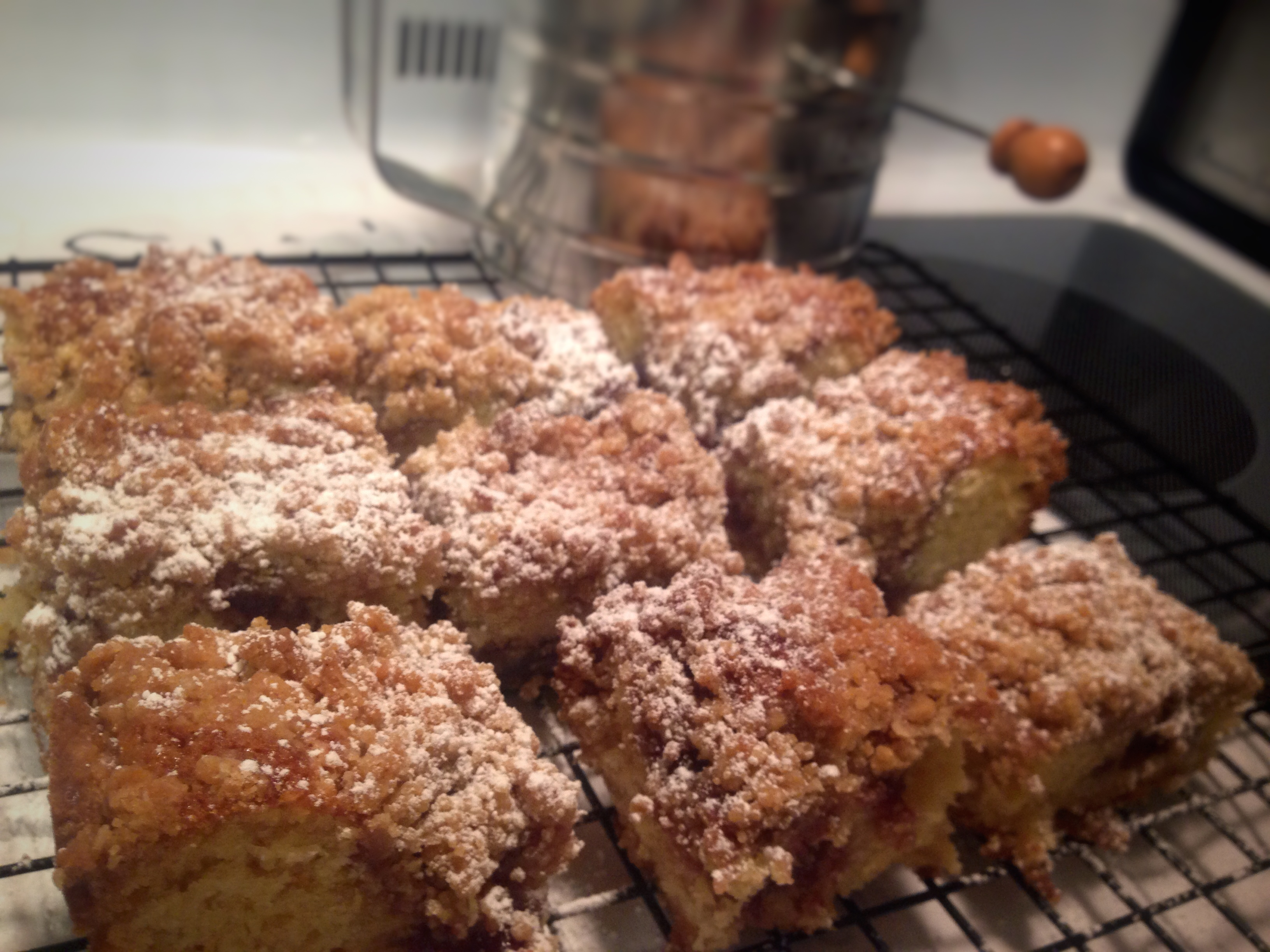 Rapsberry Jam Coffee Cake